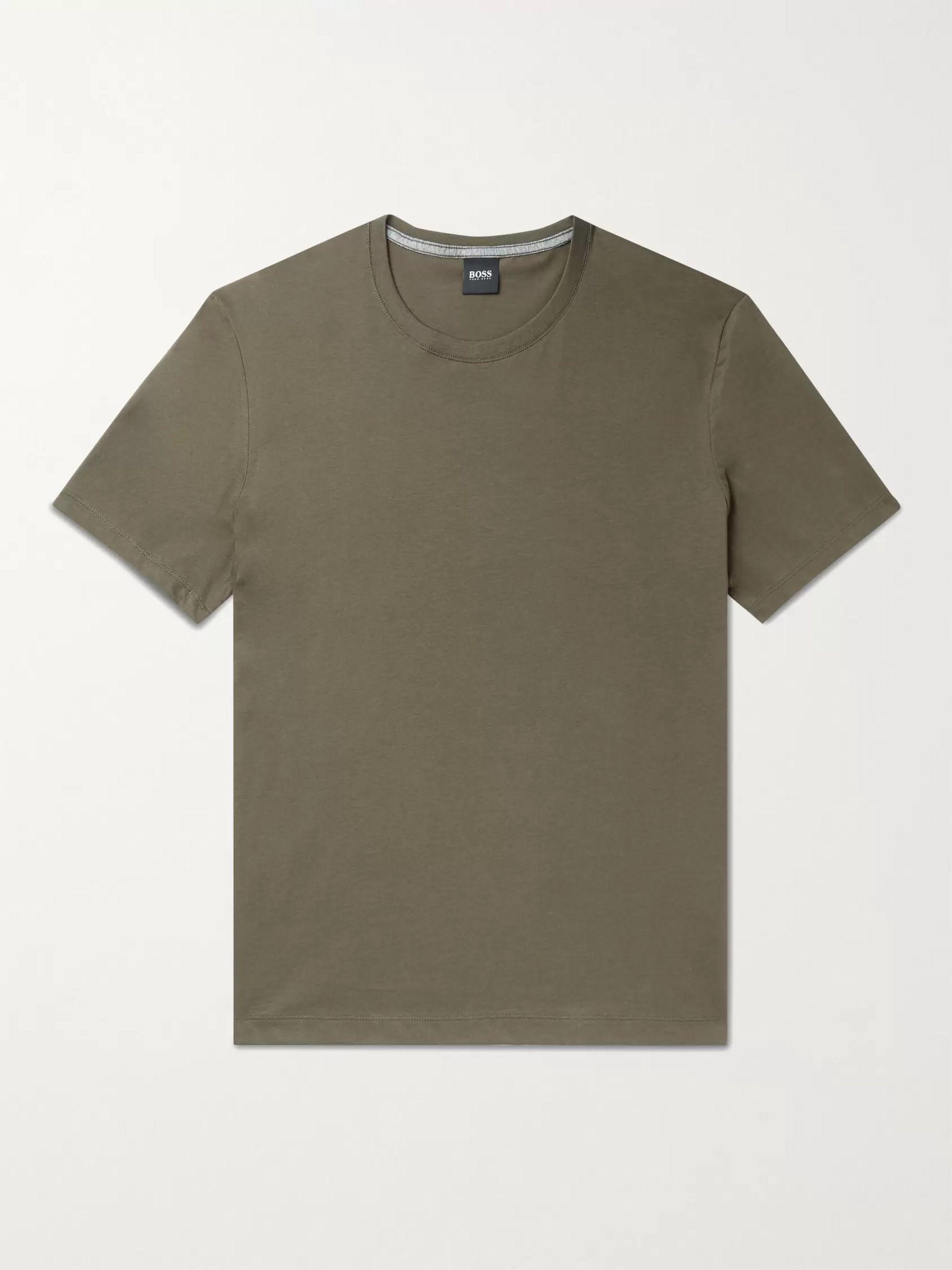 HUGO BOSS Cotton-Jersey T-Shirt