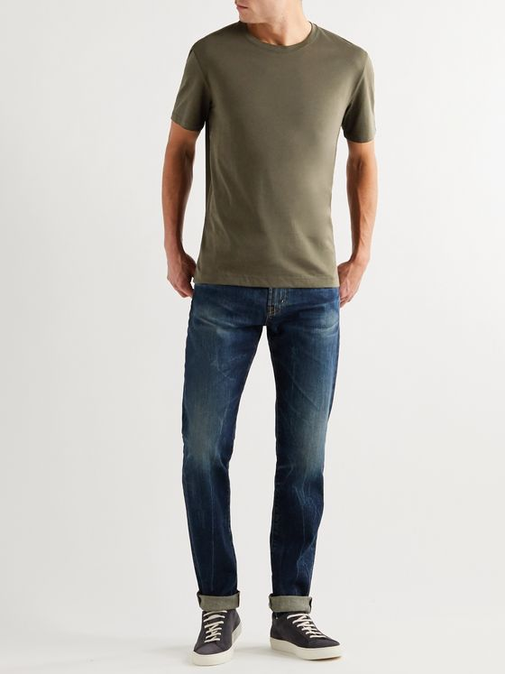 Hugo Boss Cotton-Jersey T-Shirt
