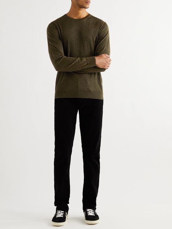 DUNHILL Mélange Wool Sweater