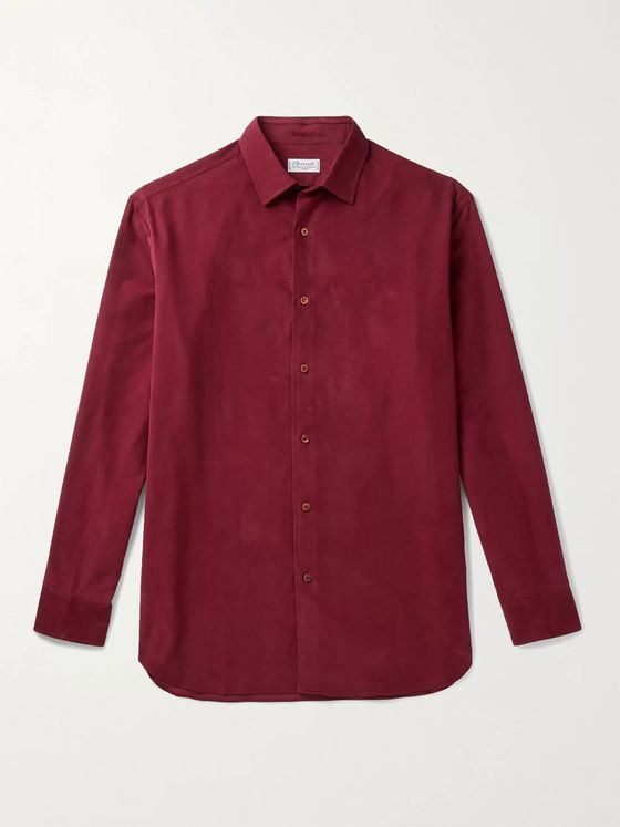 CHARVET Cotton-Corduroy Shirt
