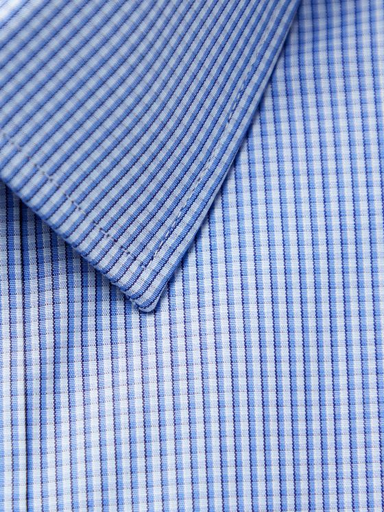 CHARVET Checked Cotton-Poplin Shirt