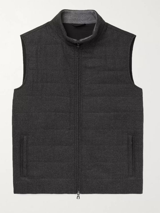 Peter Millar Excursionist Flex Slim-Fit Merino Wool Gilet