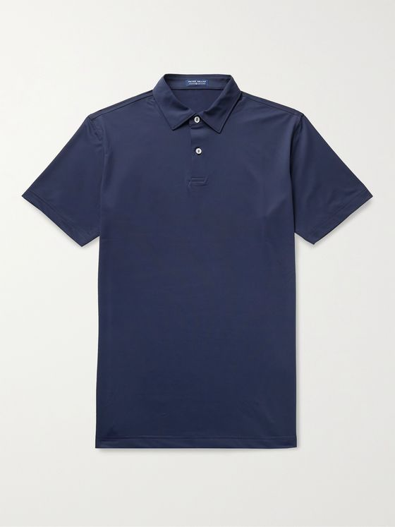 PETER MILLAR Crown Slim-Fit Stretch-Jersey Polo Shirt