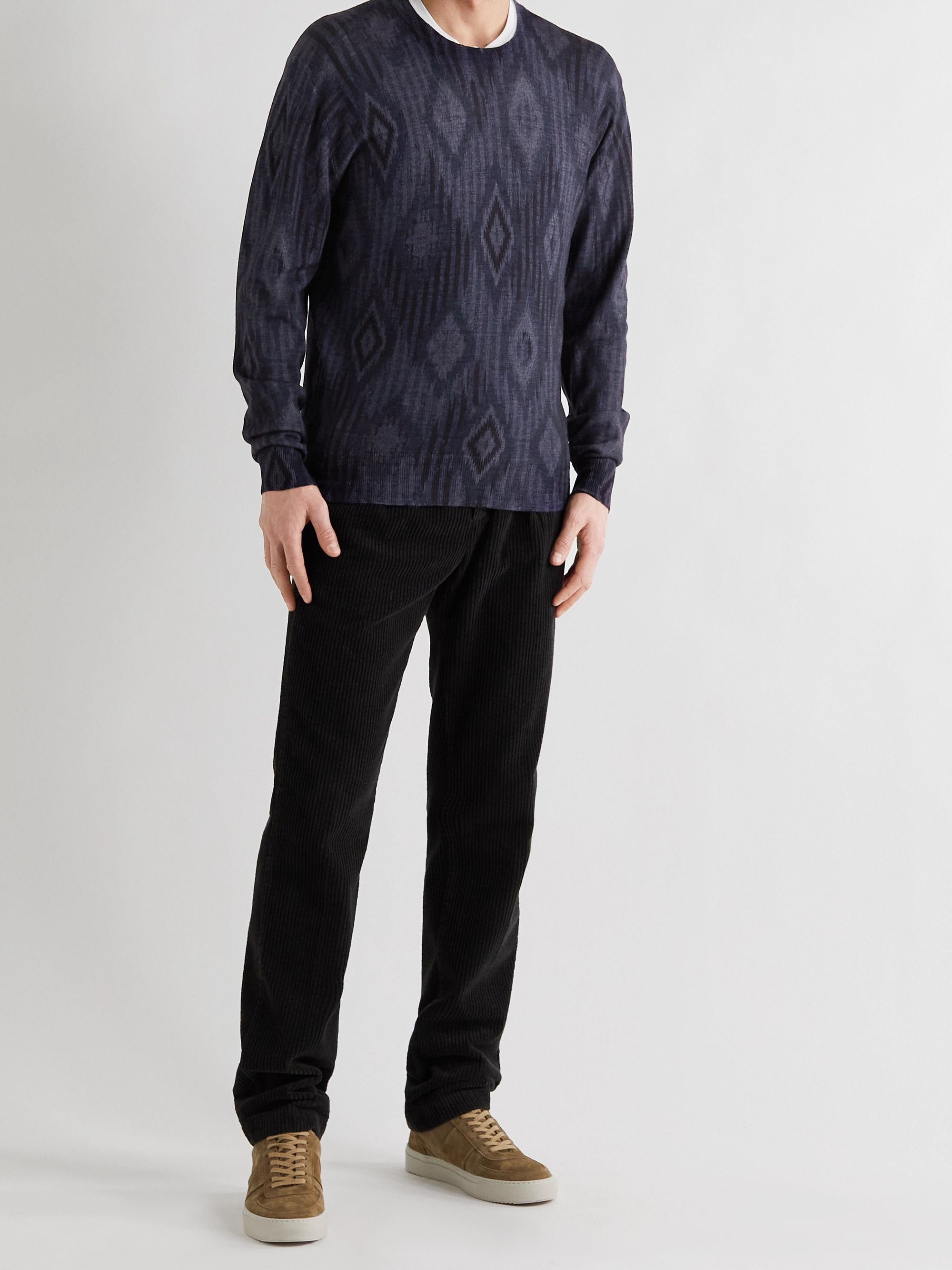 ETRO Printed Wool Sweater