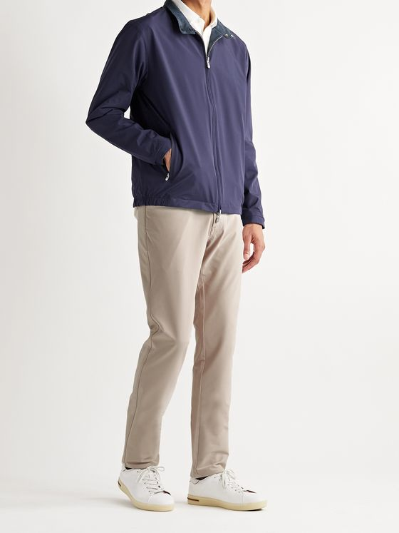 PETER MILLAR Reversible Nylon-Blend Bomber Jacket