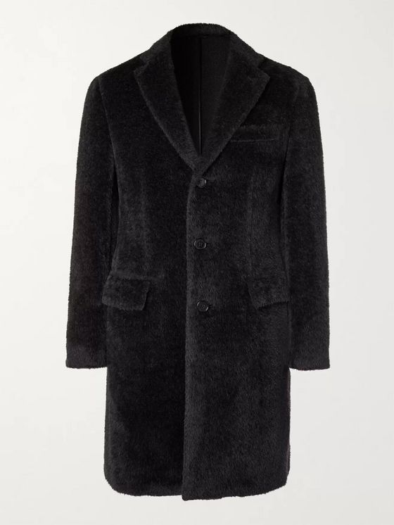 BRIONI Slim-Fit Alpaca and Virgin Wool-Blend Coat