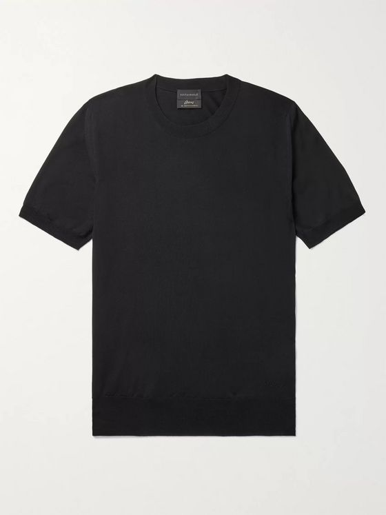 BRIONI Wool T-Shirt