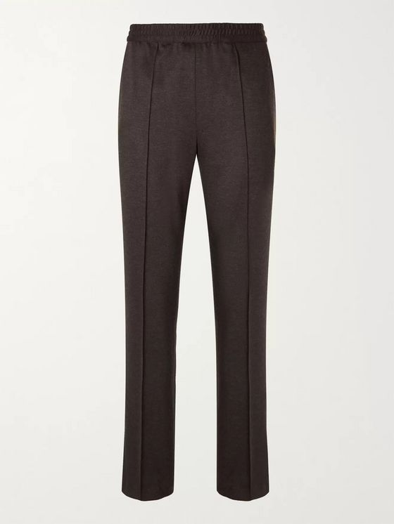 BRIONI Virgin Wool and Cashmere-Blend Suit Trousers