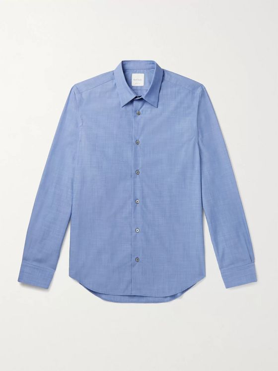 PAUL SMITH Cotton-Chambray Shirt