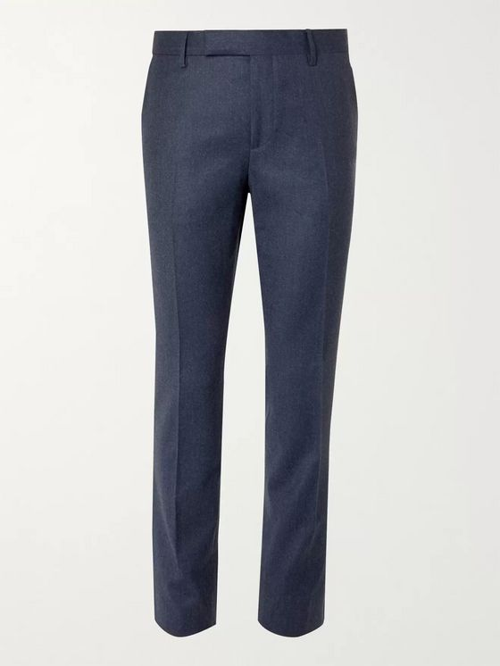 PAUL SMITH Soho Slim-Fit Wool and Cashmere-Blend Suit Trousers