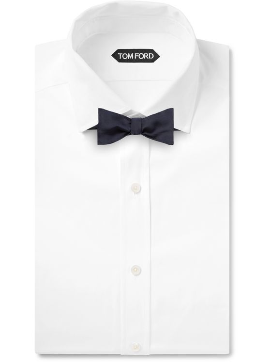 PAUL SMITH Self-Tie Silk-Grosgrain Bow Tie