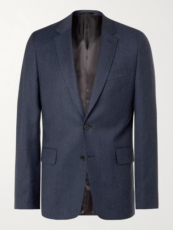 PAUL SMITH Soho Slim-Fit Wool and Cashmere-Blend Suit Jacket