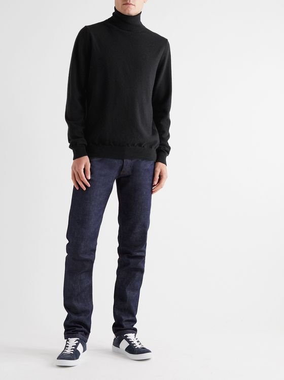 PAUL SMITH Cashmere Rollneck Sweater
