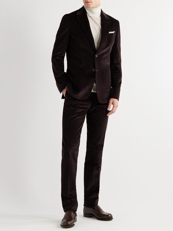 PAUL SMITH Slim-Fit Unstructured Stretch-Cotton Corduroy Suit Jacket