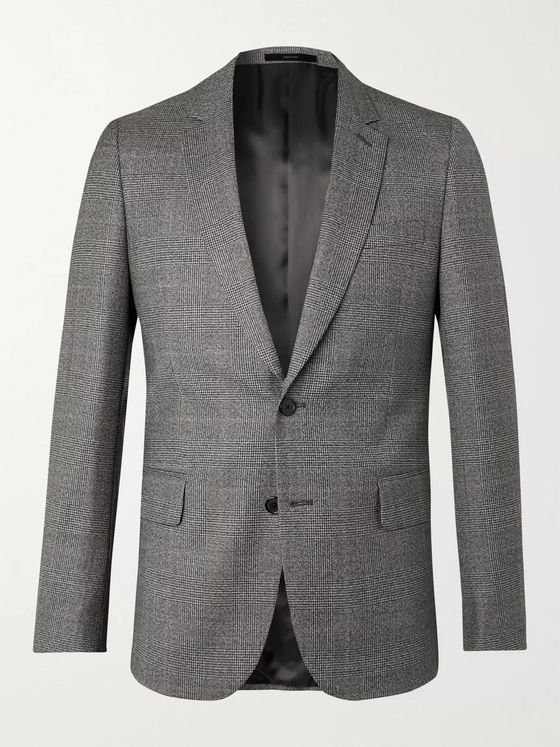PAUL SMITH Prince of Wales Checked Virgin Wool Blazer