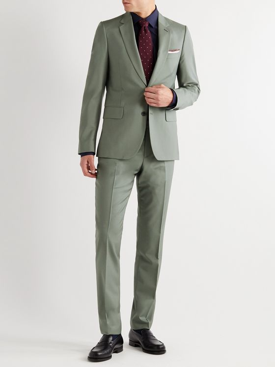 PAUL SMITH Slim-Fit Wool and Mohair-Blend Suit Jacket
