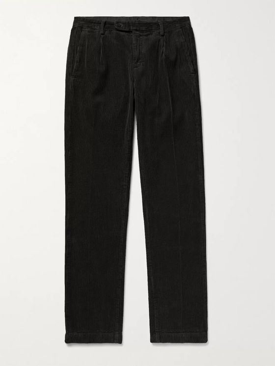 MASSIMO ALBA Ionio Slim-Fit Cotton-Corduroy Trousers