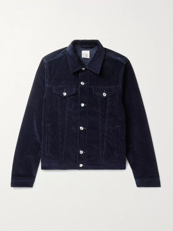 Paul Smith Cotton-Blend Corduroy Trucker Jacket