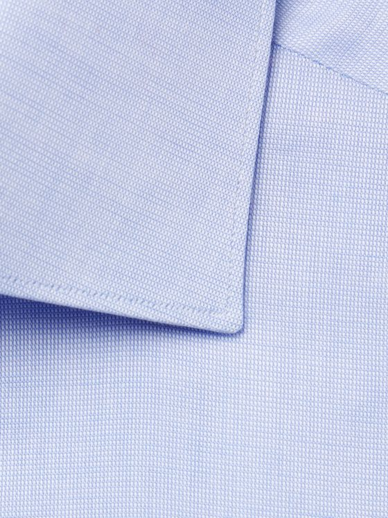 BRIONI William Slim-Fit Cutaway-Collar Cotton Oxford Shirt