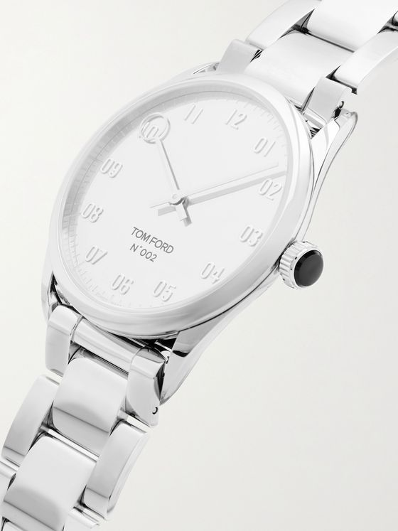 TOM FORD TIMEPIECES 002 38mm Stainless Steel Watch
