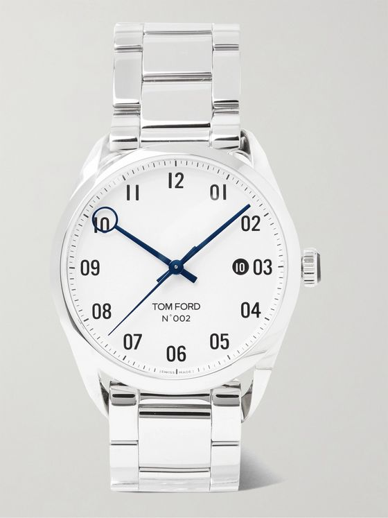 Tom Ford Timepieces 002 40mm Automatic Stainless Steel Watch