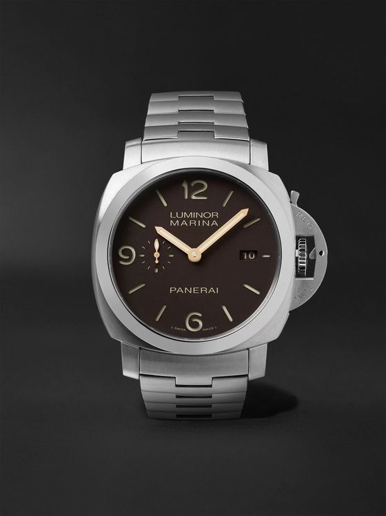 PANERAI Luminor 1950 Marina 44mm Automatic Titanium Watch, Ref. No. PAM00352