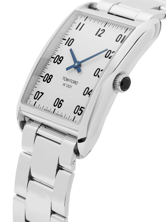 Tom Ford Timepieces 001 Stainless Steel Watch