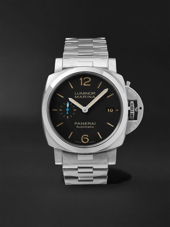 PANERAI Luminor 1950 Marina 42mm Automatic Stainless Steel Watch, Ref. No. PAM00722