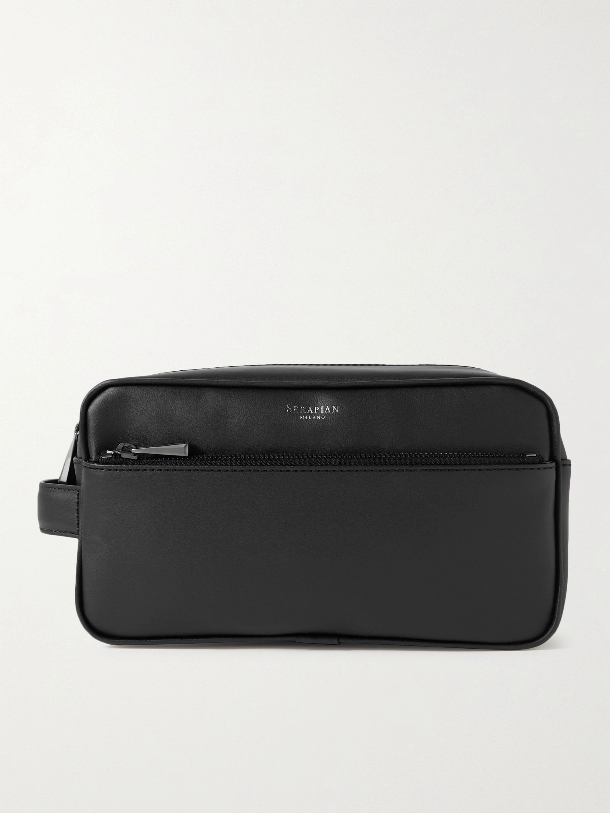 SERAPIAN Faux Leather Wash Bag