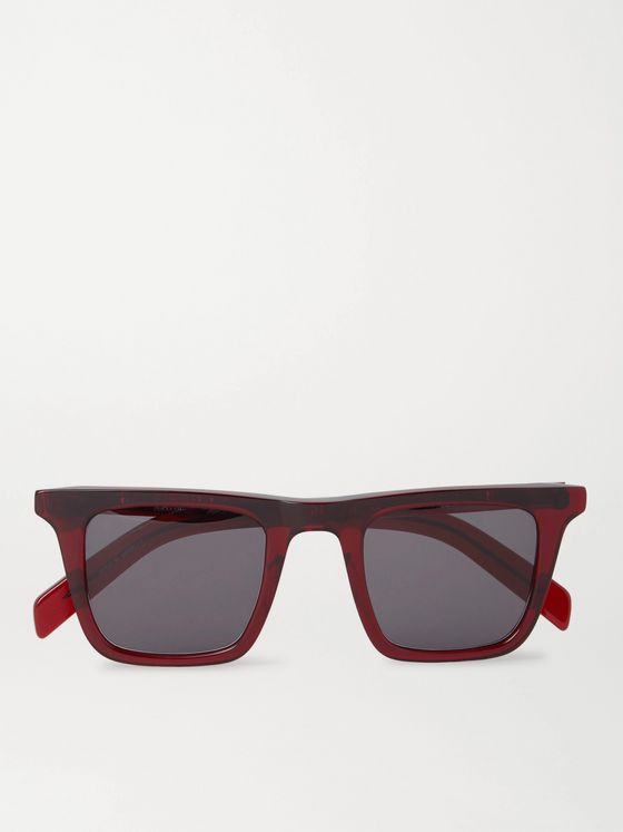 Native Sons Vincent Square-Frame Acetate Sunglasses