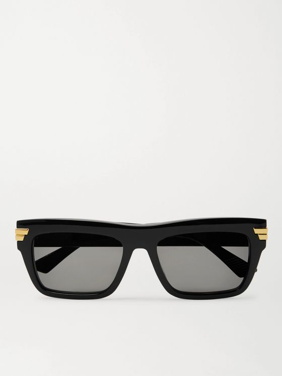 BOTTEGA VENETA Square-Frame Acetate Sunglasses