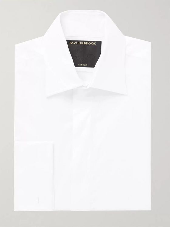 Favourbrook Gatsby Slim-Fit Cotton-Poplin Shirt