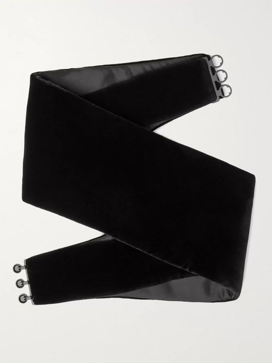 Favourbrook Cotton-Velvet Cummerbund