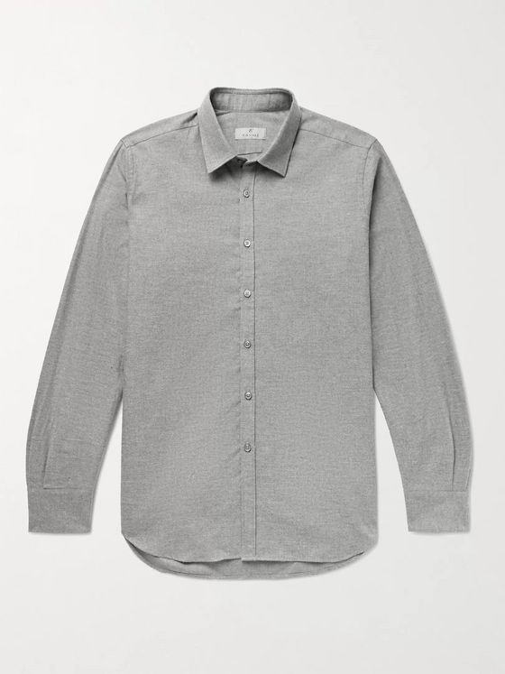 Canali Cotton-Flannel Shirt