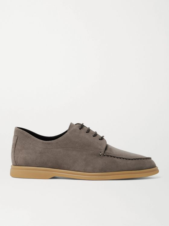 CANALI Suede Derby Shoes