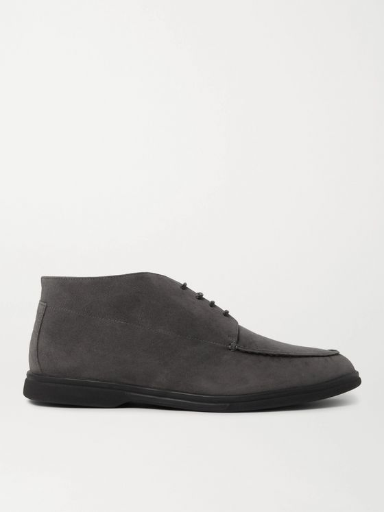 Canali Suede Desert Boots