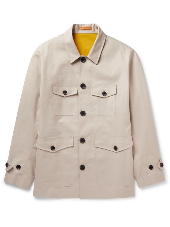 Connolly Coated-Cotton Jacket