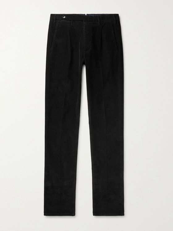 ZANELLA Noah Stretch-Cotton Corduroy Trousers