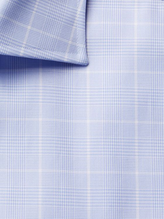 CANALI Prince of Wales Checked Cotton Shirt