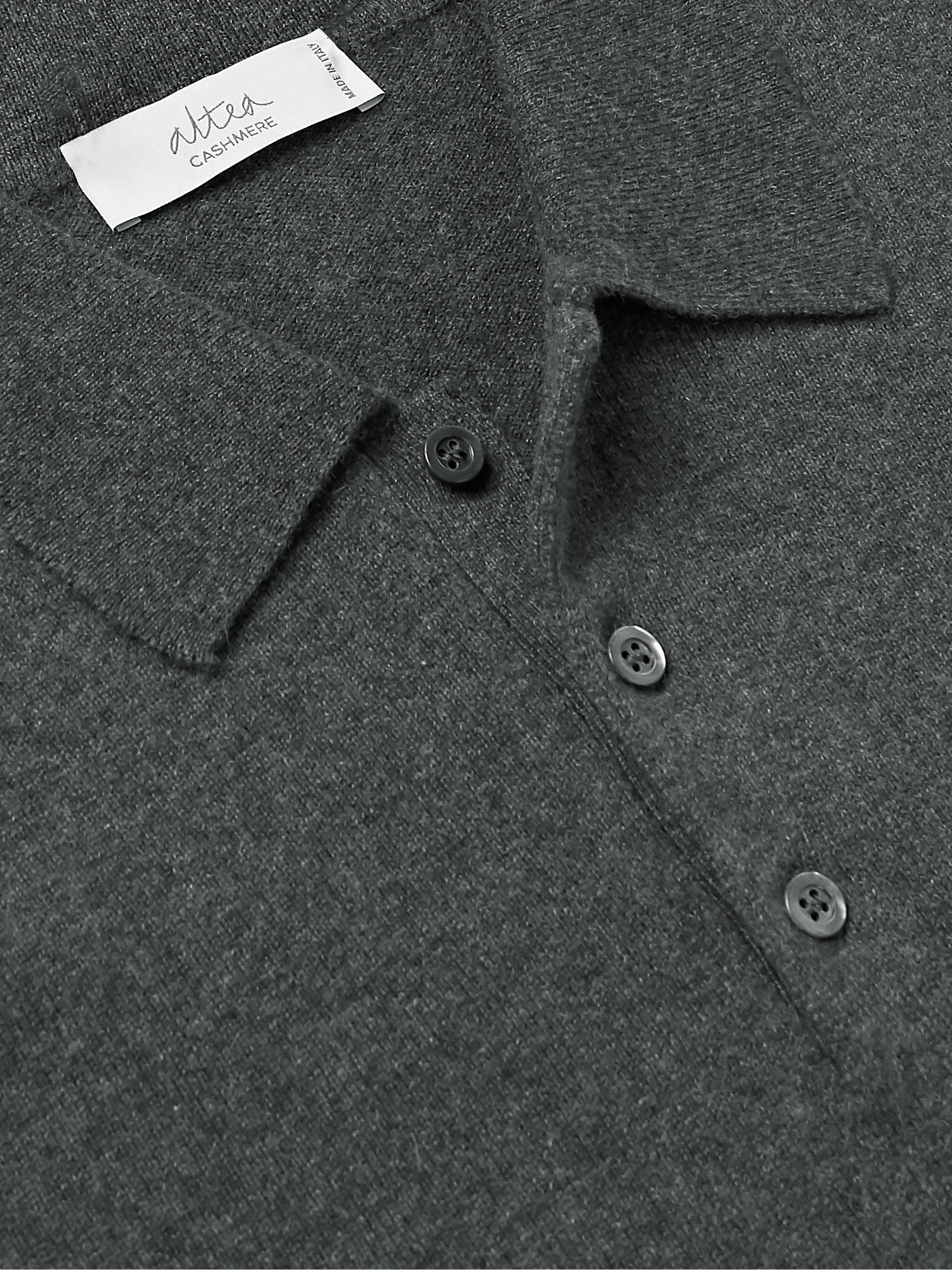 Altea Cashmere Polo Shirt