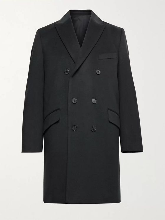 ALTEA Double-Breasted Cashmere Coat