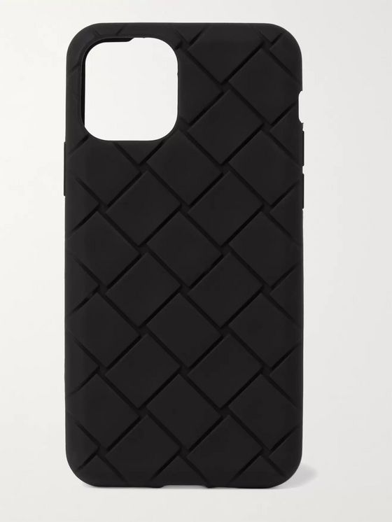 BOTTEGA VENETA Intrecciato Rubber iPhone 11 Pro Case