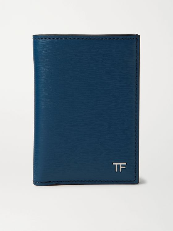 TOM FORD Textured-Leather Billfold Cardholder