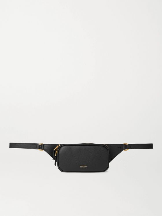 TOM FORD Pebble-Grain Leather Belt Bag