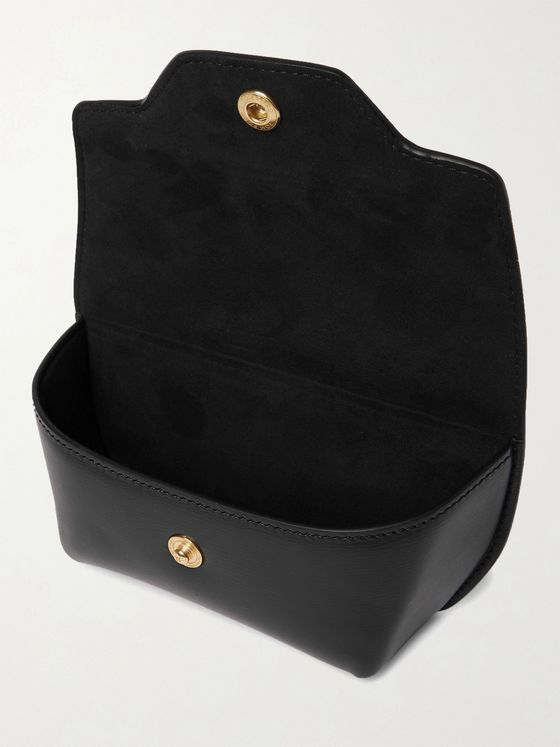 TOM FORD Textured-Leather Sunglasses Case