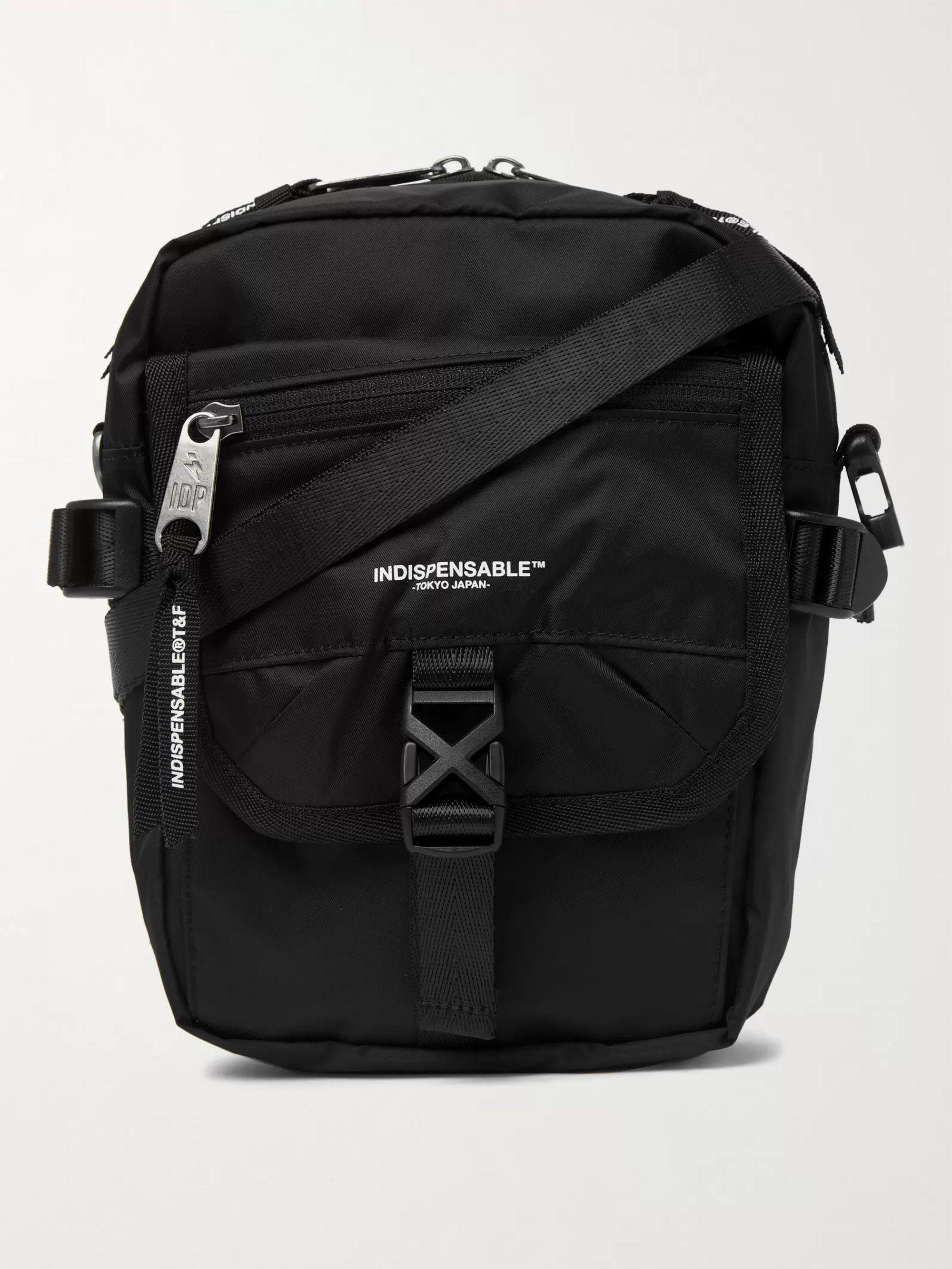 Indispensable Buddy ECONYL Messenger Bag,Black