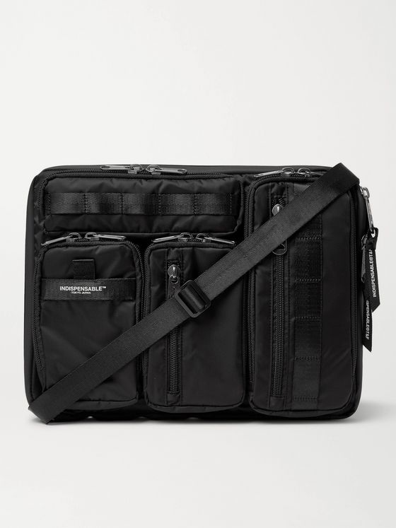 Indispensable Grosgrain-Trimmed ECONYL Laptop Case