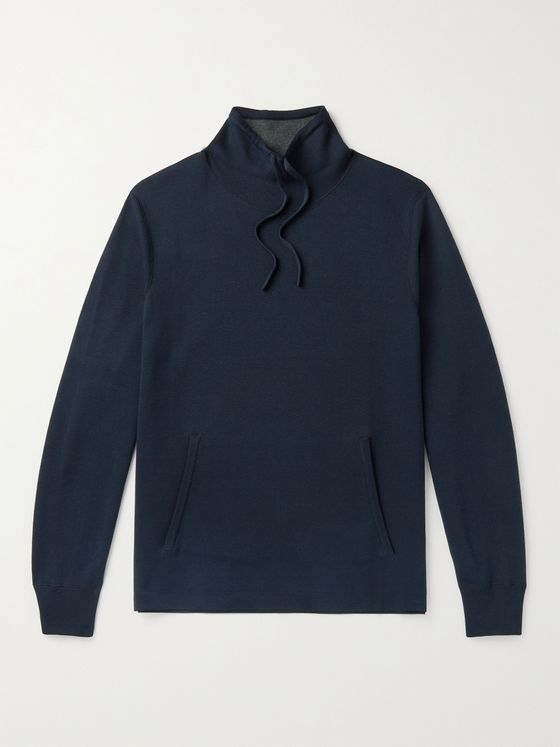 MR P. Silk and Cotton-Blend Sweater