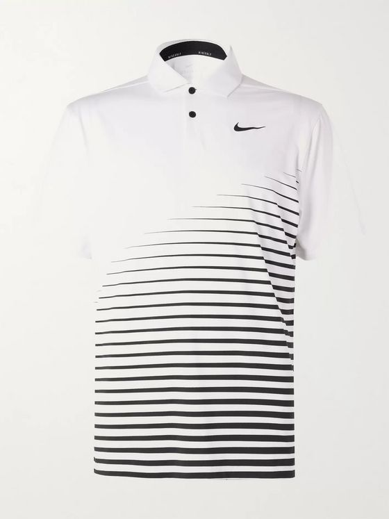Nike Golf Vapor Printed Dri-FIT Golf Polo Shirt