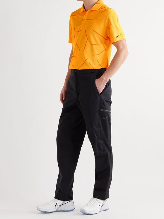 NIKE GOLF Dry Course Printed Dri-FIT Jacquard Golf Polo Shirt